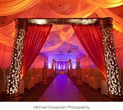 Indian Theme Royal Ceiling Drape