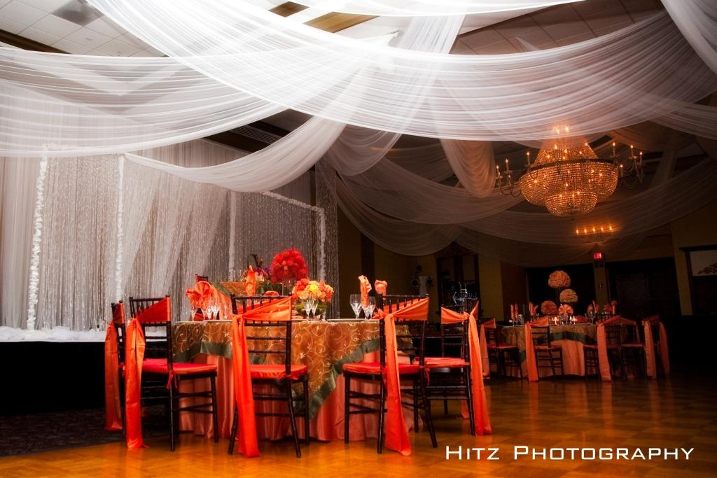 White Royal Ceiling Drape