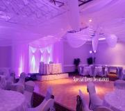 Double Diamond purple drape